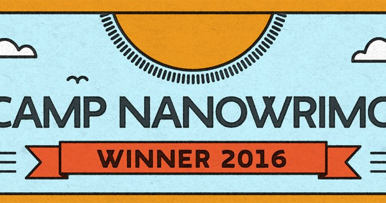 Camp NaNoWriMo 2016 Winner
