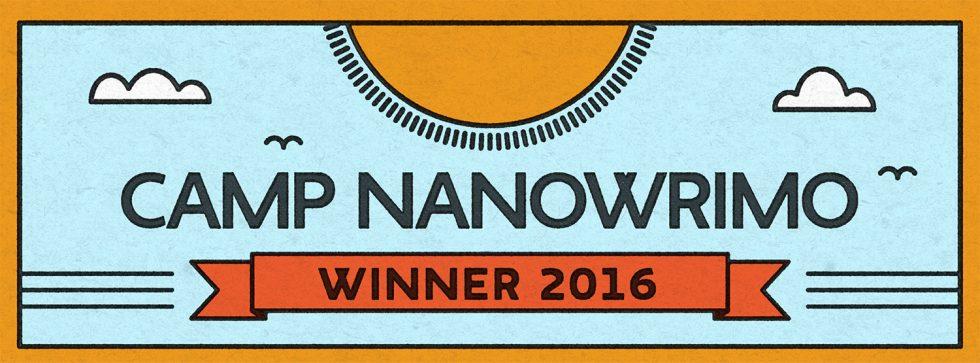 Camp NaNoWriMo 2016 Winner