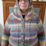 Knitting a Sweater with a Hoodie