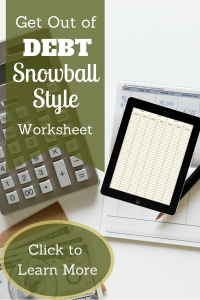 Snowball Payment Worksheet