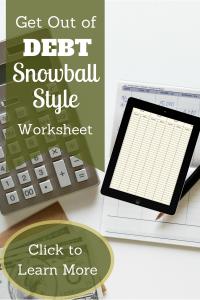 Snowball Payment Worksheet