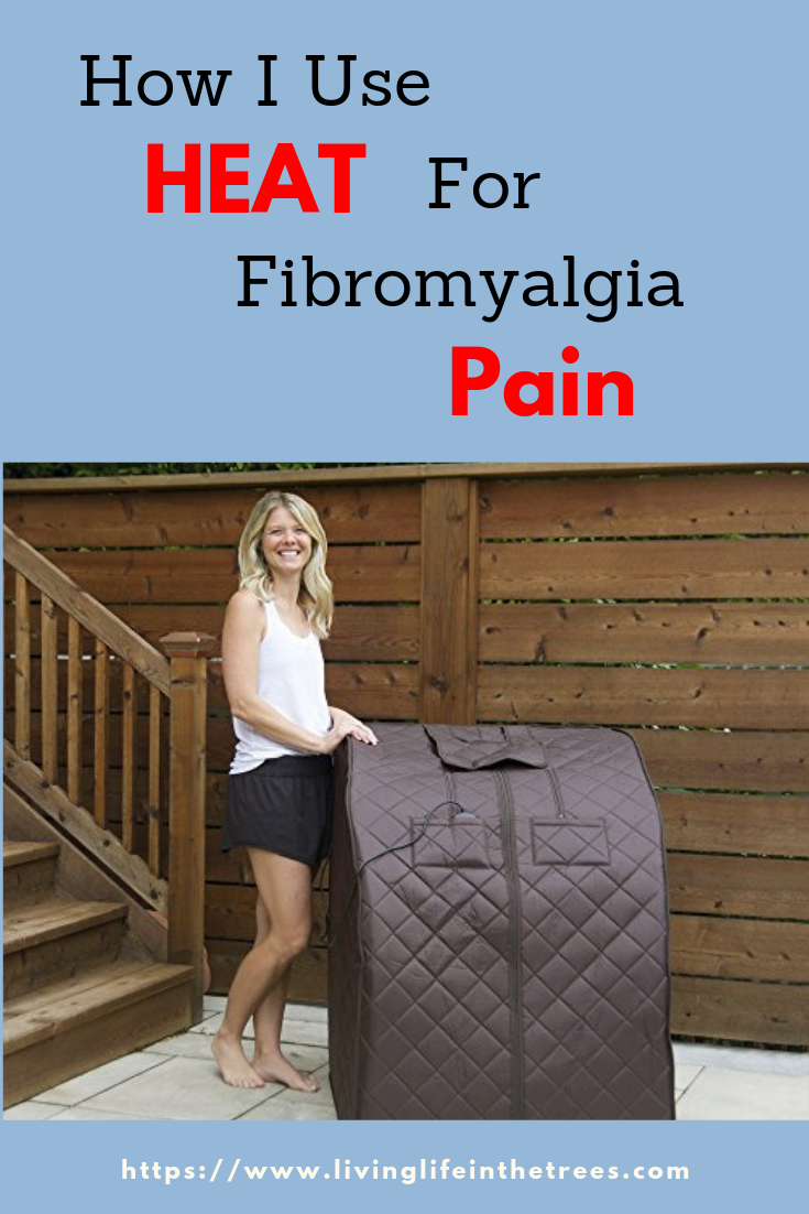 How I use heat to beat back fibromyalgia pain. Most are very inexpensive. We have to do everything we can to gain our life back. #fibromyalgia #chronicpain #spoonies