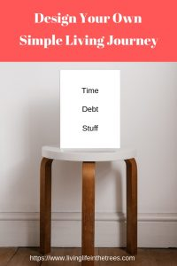 Simple Living is a 3-legged stool