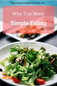 Hopefully, I can convince you of the benefits of skipping processed foods and go for simple menus.